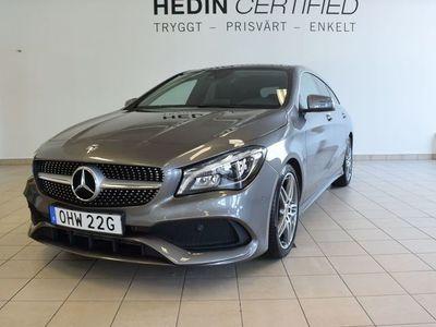 begagnad Mercedes CLA180 AMG, Panorama, Drag, Backkamera, Apple carplay