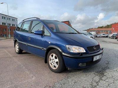 begagnad Opel Zafira 1.8 125hk 7-sits