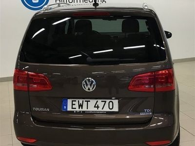 begagnad VW Touran 1,6 TDI 7-sits Nav Bluetooth