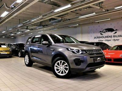 begagnad Land Rover Discovery Sport 2.0 TD4 AWD LÅGMiL SVENSK EURO6 SKATTEBEFRIAD