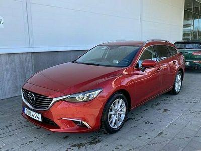 begagnad Mazda 6 6Wagon 2.2 Skyactiv-D AWD Automat 2016, Kombi Pris 199 900 kr