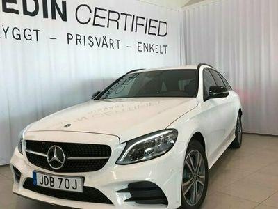 begagnad Mercedes C220 C BenzD 4MATIC AMG-NIGHT PREMIUMPKT DRAG 2021, Kombi Pris 426 900 kr