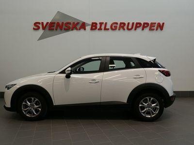 begagnad Mazda CX-3 2.0 SKYACTIV-G Euro 6 Nav S+V-hjul Lm