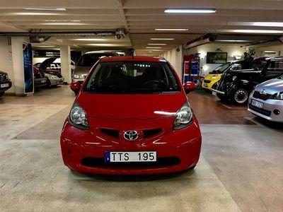 gebraucht Toyota Aygo 1,0/5DR/LÅGMIL/AC/R-FRITT