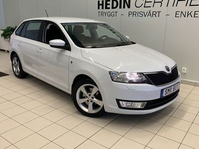 begagnad Skoda Rapid Spaceback 1,2 ink Vinterhjul