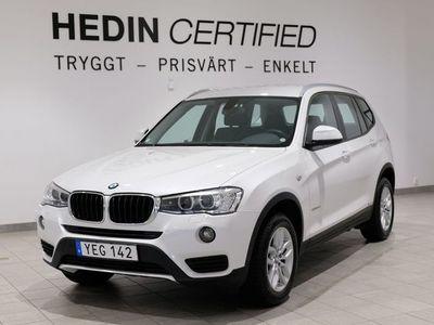 begagnad BMW X3 XDRIVE20D /NAVI/DRAGKROK/1ÄGARE