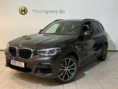 begagnad BMW X3 xDrive20d M Sport Navi Inno DA+ Värmare Drag Backkamera Komfortöppning