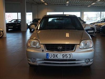 begagnad Hyundai Accent 3-dörrar 1.6 Manuell, Halvkombi 2004, Personbil 14 900 kr