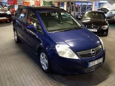 brugt Opel Zafira 1,9 cdti aut,skinn, 7-sits ,drag 150hk