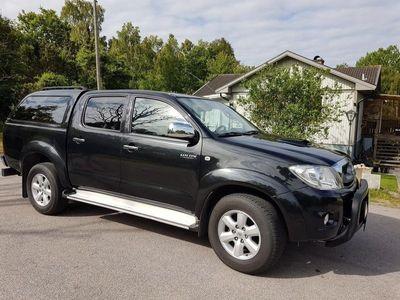 begagnad Toyota HiLux D3 dubbel cab
