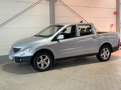 begagnad Ssangyong Actyon Sports Automat