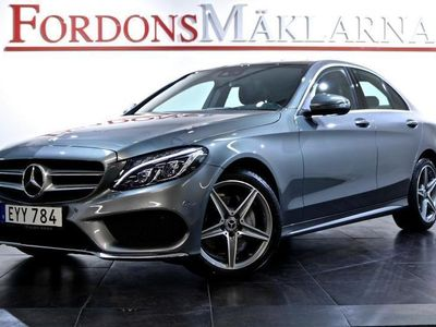 begagnad Mercedes C220 D 4-MATIC AMG PANORAMA