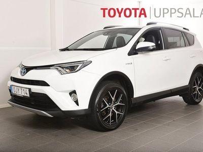 begagnad Toyota RAV4 Hybrid 2,5 Elhybrid AWD ActivePlus Euro 6 197hk