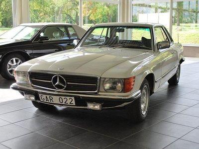 begagnad Mercedes 280 SLC 1 ägare 1987-2019
