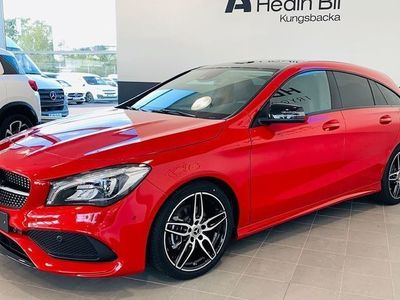 begagnad Mercedes CLA180 Shooting Brake AMG Panorama