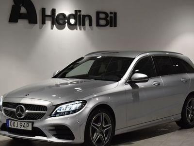 begagnad Mercedes 220 C-KLASSD // Backkamera // Navigation // AMG-Line