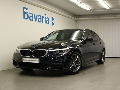 begagnad BMW 520 d xDrive Sedan M-Sport Värmare Drag Aut
