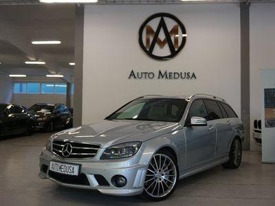 begagnad Mercedes C63 AMG 63 AMG Taklucka Backkamera SV-SÅLD 457hk