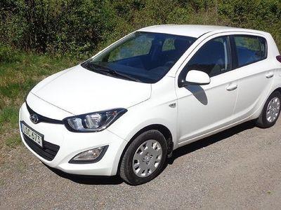 begagnad Hyundai i20 5-dörrar 1.2 85hk Avtagbart drag -14