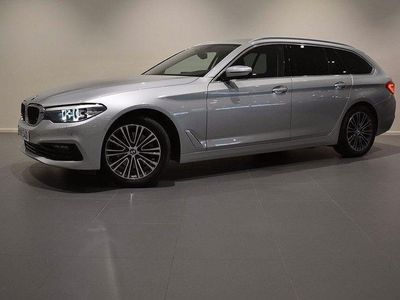 begagnad BMW 520 d Sport Line Aut Hi-Fi Drag