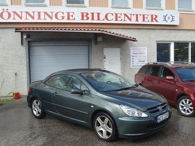 begagnad Peugeot 307 CC 2.0 Sport 177hk Plåtcab Lågmi -05