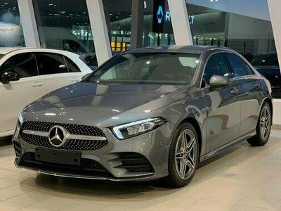 begagnad Mercedes A200 A BenzSEDAN AMG LINE ADVANTAGEPAKET 2021, Halvkombi Pris 339 550 kr