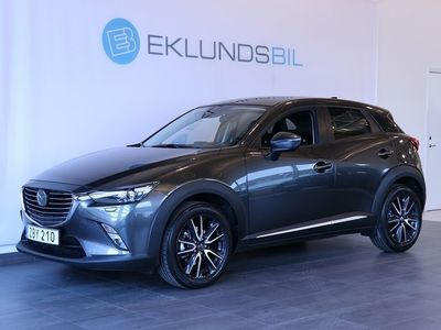 begagnad Mazda CX-3 2.0 Optimum Demo 410mil (120hk)