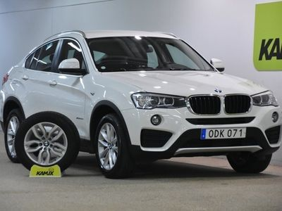 begagnad BMW X4 xDrive 20d Aut D-värm S&V-Hjul (190hk)