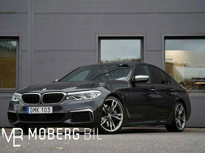 begagnad BMW M550 i xDrive Sedan 462hk M Sport Ultimate Edt. B&W HUD