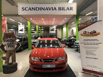 begagnad Saab 9-3 2,0T Sport Sedan 175HK DRAGKROK