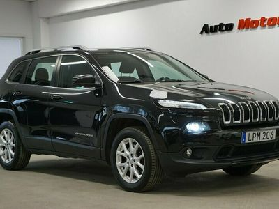 begagnad Jeep Cherokee 2.95% ränta 2.0 CRD 4WD Longitude 170hk Drag