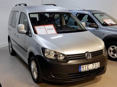 begagnad VW Caddy Maxi Life vw Life 7-Sits Dieselvärmare