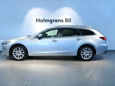 begagnad Mazda 6 2.2 DE AWD Exclusive Line Aut, Skinn, Navi