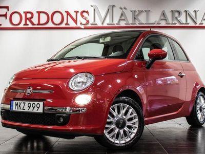 begagnad Fiat 500 1.2 LOUNGE PANORAMA