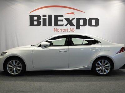 begagnad Lexus IS300h 2.5 223HK CVT EXECUTIVE NAVI SVENSKSÅLD