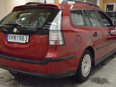 begagnad Saab 9-3 2.0T SportCombi / NYSERVAD / DRAG / 0 KR KONTANT!