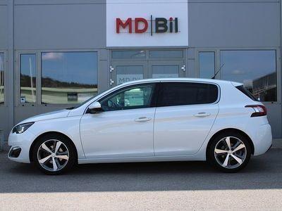 usata Peugeot 308 Allure 130hk EU6 Aut 2555mil 0kr kontant möjligt