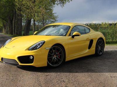 begagnad Porsche Cayman S - Sport Chrono Manuell