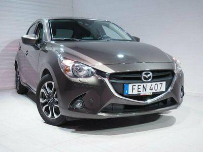 begagnad Mazda 2 5-d 1.5 90 hk Vision Plus Navi Euro 6