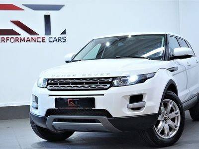 begagnad Land Rover Range Rover evoque 2.2 TD4 4WD Meridan Dragkrok