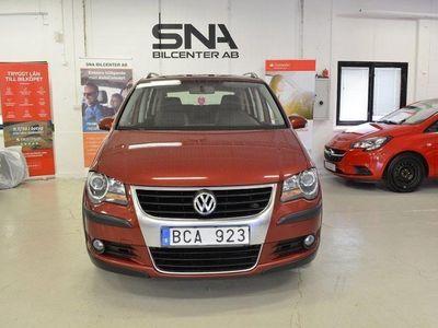 brugt VW Touran Cross 2.0 TDI DSG Sekventiell 7-sits Drag 140hk