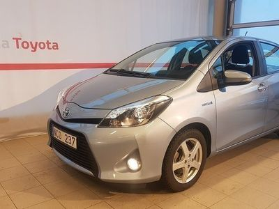 brugt Toyota Yaris 1.5 Hybrid Automat Style ComfortP. V-Hjul 2013, Halvkombi 89 900 kr