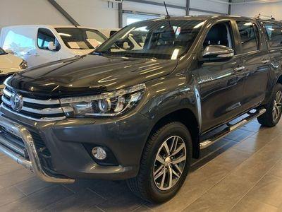 begagnad Toyota HiLux 2.4D AWD Premium 2016, Transportbil 274 875 kr
