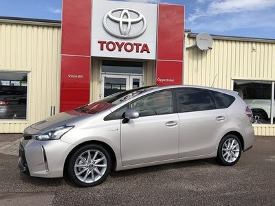 begagnad Toyota Prius+ 1,8 Elhybrid Skyview Skinn Nav