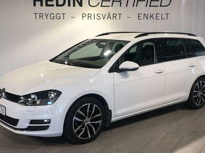 begagnad VW Golf SportsCombi 1.4 TSI DSG 140hk *V-hjul & Dragkrok