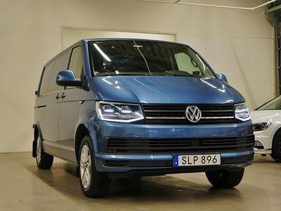 begagnad VW Transporter TDI Värmare Comfort Navi Lång Värmare Drag 204hk