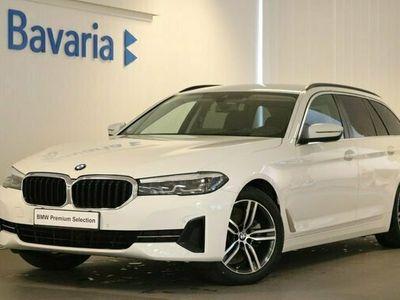 begagnad BMW 520 d xDrive Touring Connected Winter Drag HiFi 2021, Kombi Pris 454 700 kr