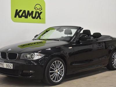 begagnad BMW 120 Cabriolet d AUT Advantage Edition