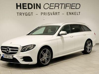 begagnad Mercedes E220 4MATIC AMG, Värmare, Widescreen, 2 Års Nybilsgaranti!