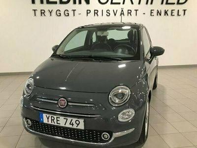 begagnad Fiat 500 1.2 Manuell, LOUNGE 2018, Halvkombi Pris 99 900 kr